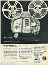 PUBLICITE ADVERTISING 095  1961  PAILLARD & BOLEX  projecteur 18-5