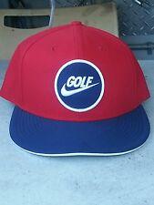 Nike Adult Unisex Golf True Adjustable Hat Cap Gym Red Navy White 749956 687
