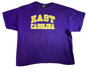 Vintage 90s East Carolina University Pirates T-Shirt Size 2XL NCAA