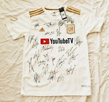 2018 Los Angeles FC Team Signed Soccer Jersey HOME MLS wPROOF LAFC Vela Banc Ca