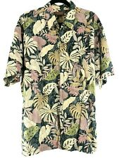 Tori Richard Size XXL Mens SS Cotton Lawn Aloha Hawaiian Camp Shirt Chest 53""