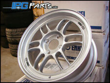 Enkei RPF1 15x7 +41mm 4x100 Silver Light Weight Racing Wheels Civic Integra CRX