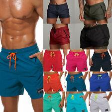 Men's Summer Quick Dry Swim Board Shorts Bottoms Beach Swimwear Swimming Trunks