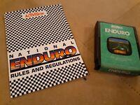 ENDURO by ACTIVISION for Atari 2600 ▪︎ CARTRIDGE and MANUAL ▪︎