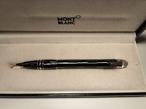 Montblanc Starwalker - Black Mystery-Kugelschreiber, Gebraucht