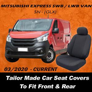 Canvas Car Seat Covers Mitsubishi Express Van SWB /LWB SN - GLX  03/2020-Current