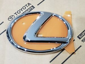 08-14 New Lexus ISF Chrome Front Grille GRILL Emblem 2008 2009 2010 2011 2012 13