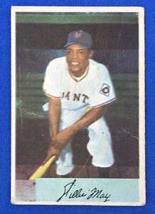 1954 Bowman WILLIE MAYS #89 HOF (AdRoxCards)