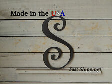 """6"""" Metal Letter-Artistic Wall Hanging-Colored Steel Letters-Metal Decor-F1003"""
