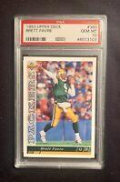 BRETT FAVRE, 1993 Upper Deck #360, PSA 10 Gem Mint, Green Bay Packers