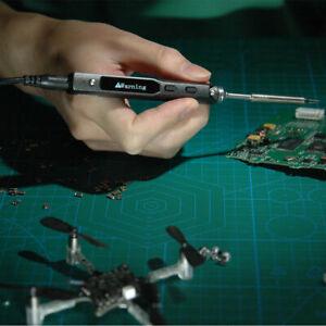 TS100-B2 Mini Portable Elektrisch Digital Soldering Iron Kit USB Soldering Iron