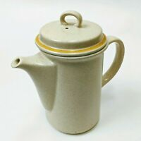 Hearthside Garden Festival Handpainted Stoneware Japan Teapot Coffee Pot Server