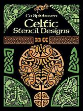 Celtic Stencil Designs: Pictorial Archive (Dover Pictorial Archive) by Spinhoven