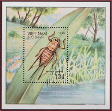 VIETNAM Bloc N°32** Bf Insectes, 1986 Vietnam 1712 Insects Sheet MNH