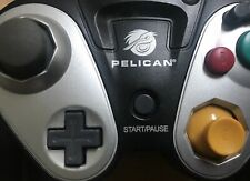 Pelican G3 Wireless Black Controller For GameCube No Receiver PL-7055