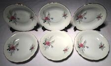 Lot2 De 6 Grandes Assiettes Creuses En Haute Porcelaine Du Berry CP D 21,5 Cm