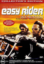 Jack Nicholson Peter Fonda Dennis Hopper EASY RIDER (COLLECTOR'S EDITION) DVD
