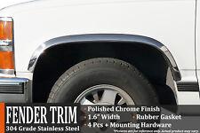 1988-1998 CK Pickup / GMC Sierra (With Side Moldings) Fender Trim Wheel Molding