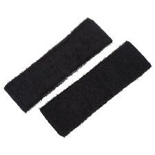 2 PCs uebung Elastic Frottee-Stirnband Schweissband Schwarz DE T3S1