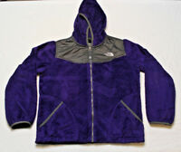 North Face Girl's Fleece Jacket Full ZIP Hooded size large