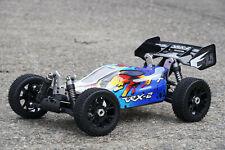 XTC RC MEGA MONSTER BUGGY BRUSHLESS 1:8 4WD RTR 70KM/H 2,4GHZ Li-Po AKKU + LADER