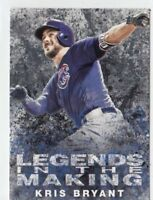KRIS BRYANT 2018 Topps Series 1 LEGENDS IN THE MAKING Black #LTM-KB CUBS