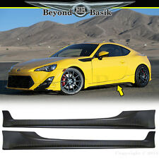 "2013 2014 2015 2016 Subaru BRZ GT86 Scion FRS ""T Style"" 2PC SIDE SKIRTS Body Kit"