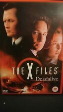 The X Files - Deadalive DVD - David Duchovny, Gillian Anderson -Mulder / Scully