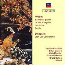 Rossini / Bottesini - Rossini: Sonate A Quattro / Bottesini: Gran Duo [New CD]