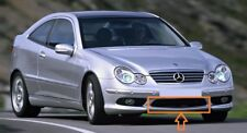 Genuine Mercedes Benz W203 AMG COUPE Parachoques Delantero Parrilla Inferior Centro A2038851453