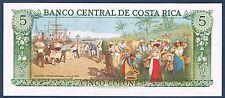 COSTA RICA - 5 COLONES Pick n° 236.d du 12 mars 1981 en NEUF D38883663