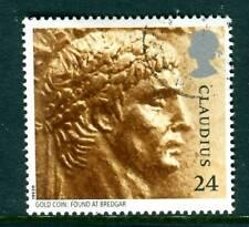 1993 GB 24p Emperor Claudius Used. Roman Britain