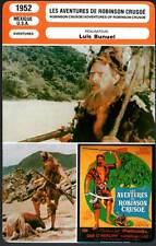 FICHE CINEMA : LES AVENTURES DE ROBINSON CRUSOE - Luis Bunuel 1952