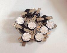 10 pcs KSD301 90C NO(Normal Open) 2 Pins Thermostat Temperature Control Switch