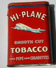 Vintage Hi-Plane Twin Engine Vertical Pocket Tobacco Tin