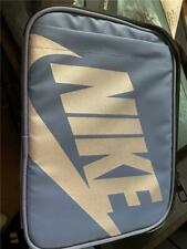 Nwt Nike insulated lunch box - lavender/blue w/ silver logo & swoosh