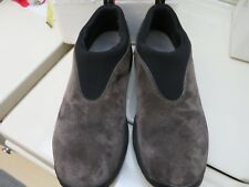 Mens MERRELL Orbit Moc GUNSMOKE Suede Loafers Slip-On Comfy Shoes Size 8 PreOwnd
