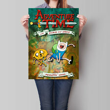 Adventure Time with Finn and Jake TV Series Poster 16.6 x 23.4 in (A2)