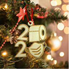 2020Covid Quarantine Personalized Ornaments Survivor Family Christmas Tree Decor