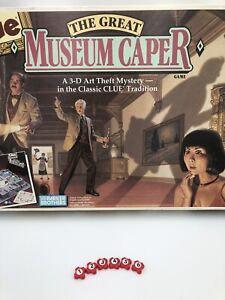 Clue The Great Museum Caper Board Game Replacement Pieces Security Cameras 6x