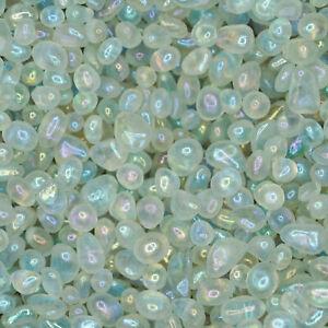 2 oz Bulk Lot Natural Aura Quartz Crystals (Tumbled Reiki Crystals)