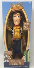 Authentic Disney Toy Story Woody's Roundup Sheriff Woody Talking Action Figure