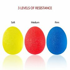 PEDIMEND Egg Shaped Squeeze Hand Exercise Ball - Relieve Finger & Palm Muscles