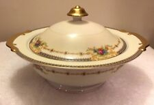 KONGO STS JAPAN HAND PAINTED FLORAL CHINA KON16 Covered Vegetable Dish