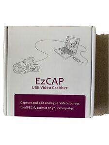 Ez CAP video grabber with audio USB