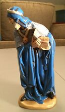 """Rare And Large Vintage Atlantic Mold Wise Man 10"""" Wise Men"""