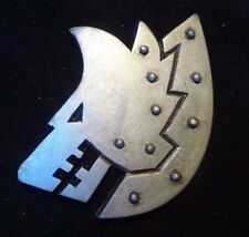 40k Space Wolf Engil Iron Wolf's company badge pin