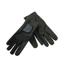 """Deerhunter 8337 """" Shooting Gloves """" 393 - Dh Timber, Nylon and Leather, Size XL"""