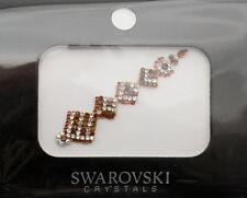 Bindi bijoux de peau mariage front strass cristal Swarovski ambre INHD  3618