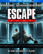 Escape Plan (Blu-ray/DVD, 2014, 2-Disc Set) w/artwork LIKE NEW Stallone/Arnold